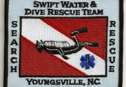 youngsville swift water dive rescue team