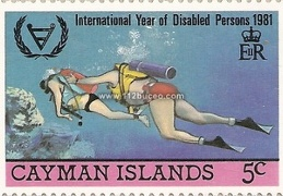 cayman international year disabled persons 1981