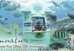 vanuatu underwater post office 10th anniversary